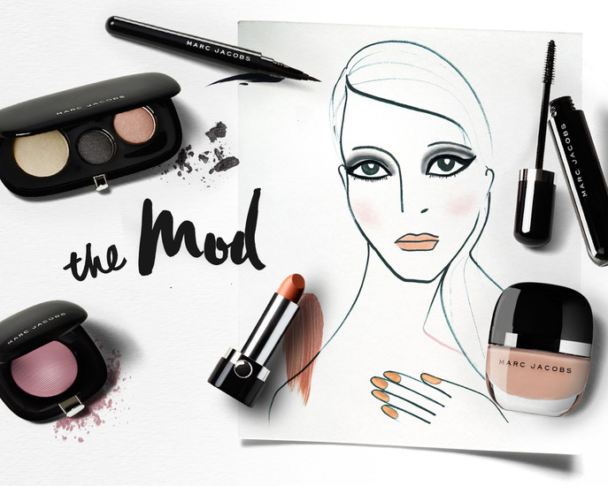 MAKING FACES: THE MOD LOOK FROM MARC JACOBS BEAUTY