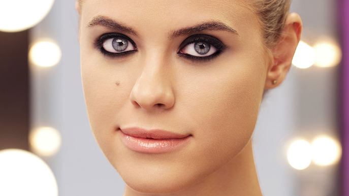 Smoky Eye Liner: The Blackest Black Eye Makeup Tutorial