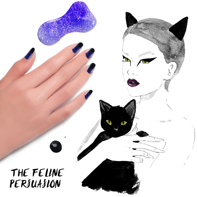 THE TIP-OFF: THE FELINE PERSUASION MANICURE WITH FORMULA X NAIL LACQUER