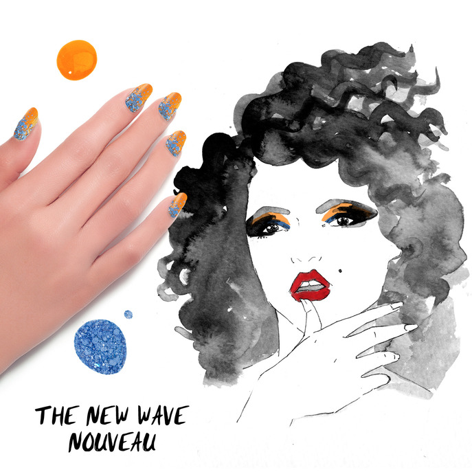 THE TIP-OFF: THE NEW WAVE NOUVEAU MANICURE WITH FORMULA X NAIL LACQUER