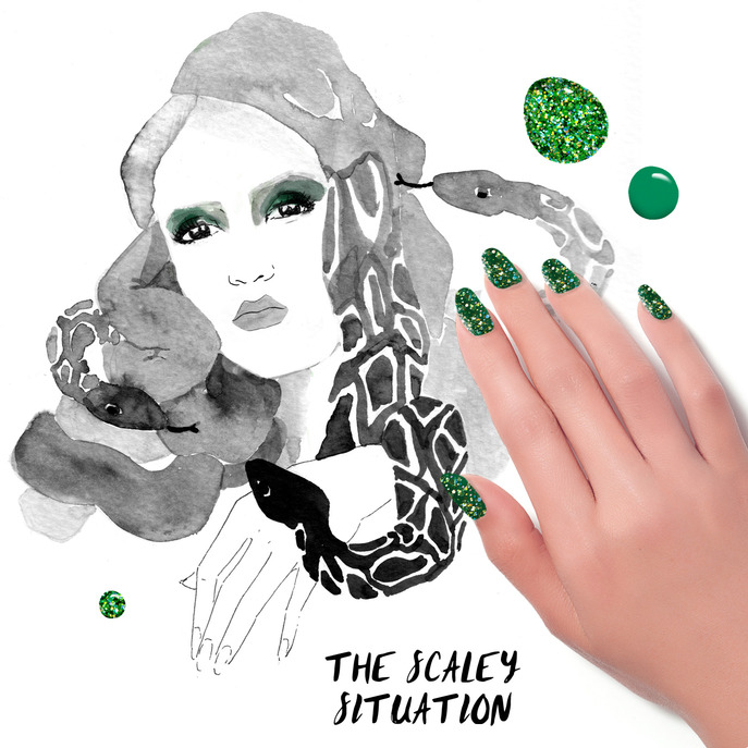 THE TIP-OFF: THE SCALEY SITUATION MANICURE WITH FORMULA X NAIL LACQUER