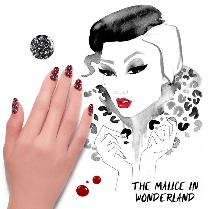 THE TIP-OFF: THE MALICE IN WONDERLAND MANICURE WITH FORMULA X NAIL LACQUER
