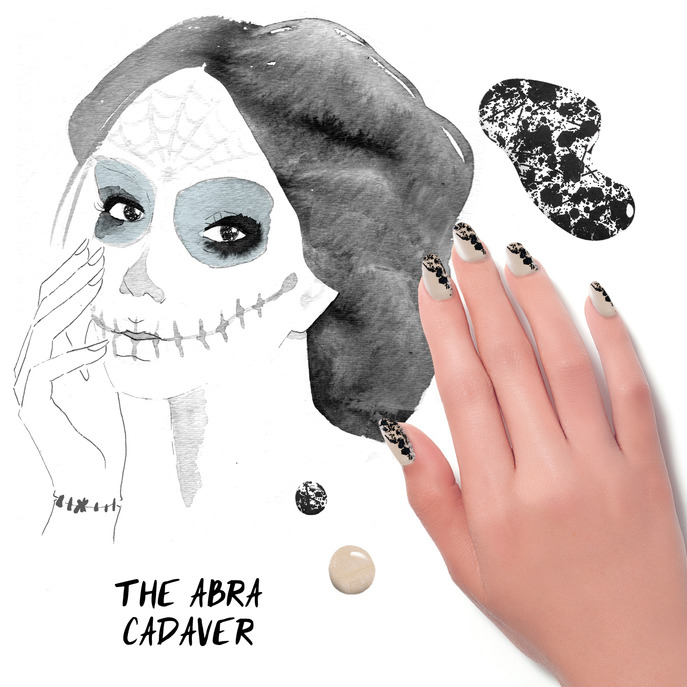 THE TIP-OFF: THE ABRA CADAVER MANICURE WITH FORMULA X NAIL LACQUER