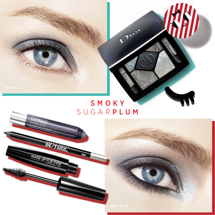 MAKING FACES: SMOKY SUGAR PLUM EYE