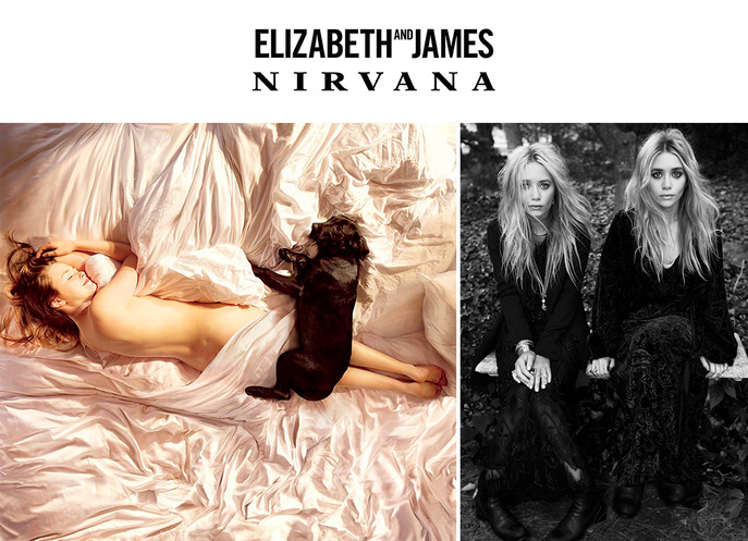 SPOT IT: ELIZABETH AND JAMES NIRVANA PREVIEW SALE
