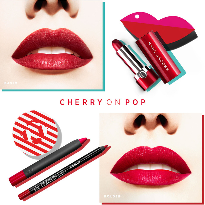 MAKING FACES: CHERRY ON POP LIP