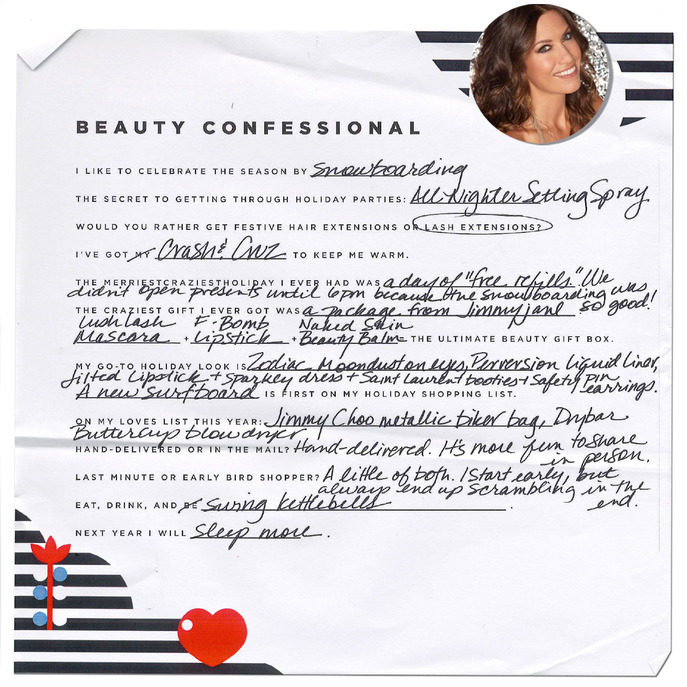 HOLIDAY BEAUTY CONFESSIONAL: URBAN DECAY FOUNDER WENDE ZOMNIR
