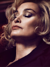 FRONT/CENTER: JESSICA LANGE, THE NEW FACE OF MARC JACOBS BEAUTY