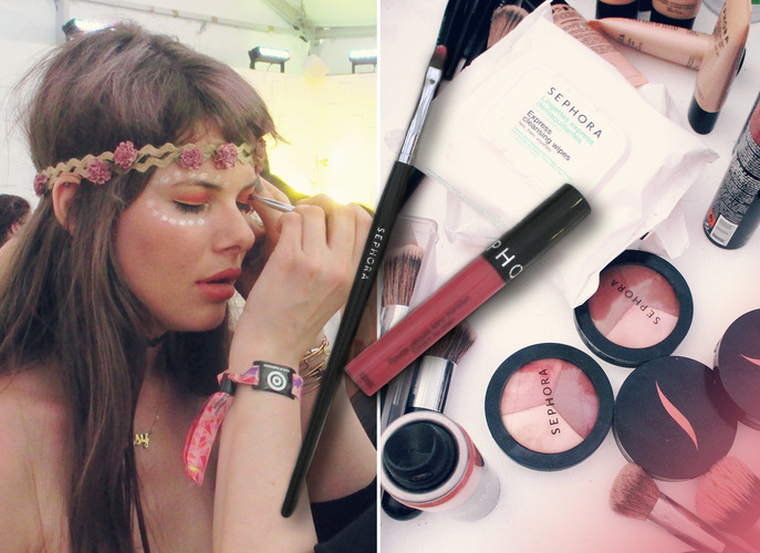 THE TIP-OFF: FESTIVAL BEAUTY PROBLEMS