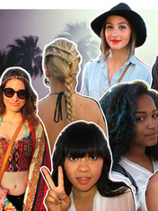 FRONT/CENTER: COACHELLA BEAUTY TRENDS