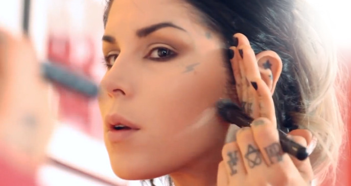 VIDEO: KAT VON D'S 24-HOUR MAKEUP CHALLENGE