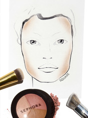 THE TIP-OFF: HOW TO HIGHLIGHT + CONTOUR BY FACE SHAPE