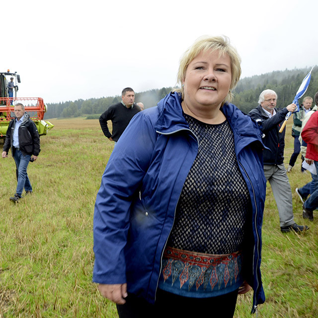 23. (24) Erna Solberg