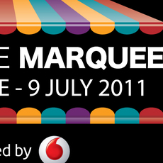 VODAFONE / LIVE AT THE MARQUEE LOGO