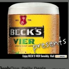 Beck&#x27;s Vier / Express Your Creativity Online Advertising