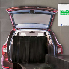 Skoda Ireland / ŠKODA Superb Combi's Boot Space Airport Ambient