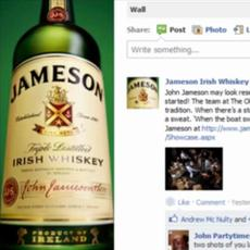 Jameson Irish Whiskey / Jameson Love button