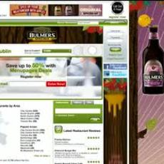 Bulmers / Specials Homepage Takeover