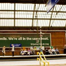 Irish Ferries / Smile, We're all in the same boat