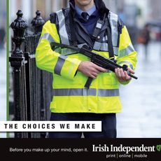 "Irish Independent ""Choices"" / Garda"