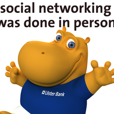 Ulster Bank / Henri Hippo Relaunch, Social Networking