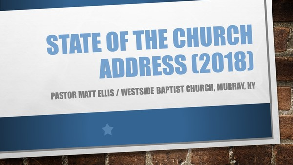 Array - state of the church address  2018    westside baptist church  rh   wbcmurray org