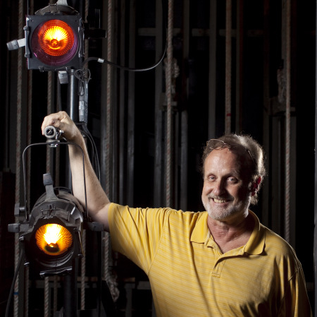 Keith Arsenault with Lights