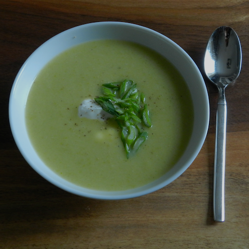 Soup and spoon