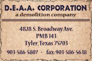 Website for D.E.A.A. Corporation
