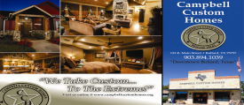 Website for Campbell Custom Homes, Inc.