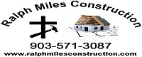 Website for Miles Construction Co., Inc.