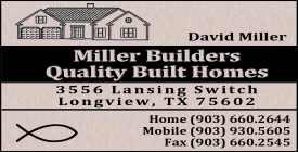 Website for Miller Builders