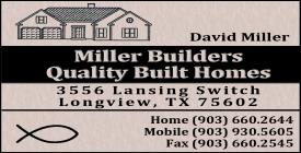 Website for Miller Builders