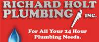Website for Richard Holt Plumbing, Inc.