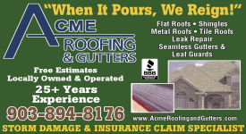 Website for ACME Roofing