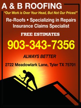 Website for A & B Roofing