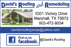 Website for David's Roofing and Remodeling