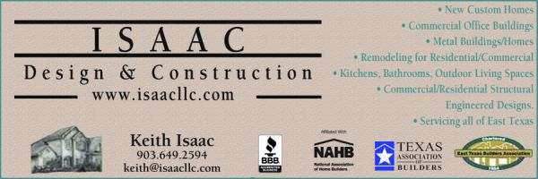 Website for Isaac Design & Construction