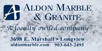 Website for Aldon Marble & Granite