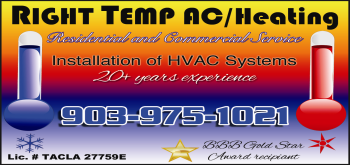 Website for Right Temp A/C & Heating