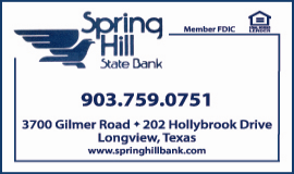 Website for Spring Hill State Bank