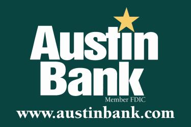 Website for Austin Bank