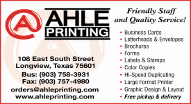 Website for Ahle Printing