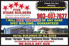 Website for Five Starr Builders,LLC