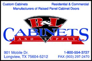 Website for B & L Cabinet and Supply, Inc.