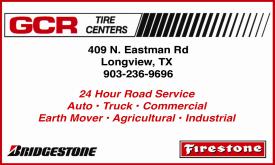 Website for G C R Tire Center