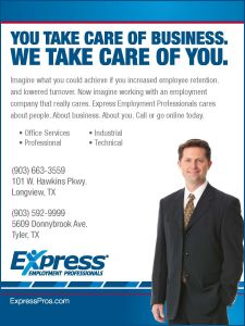 Website for Express Employment Professionals