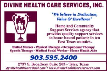 Website for Divine Health Care Services, Inc.