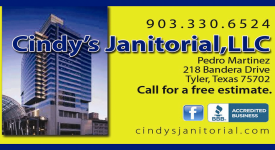 Website for Cindy's Janitorial Clean Services