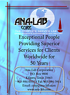 Website for Ana-Lab Corporation